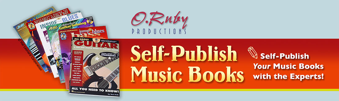 Self-publish Music Books Logo