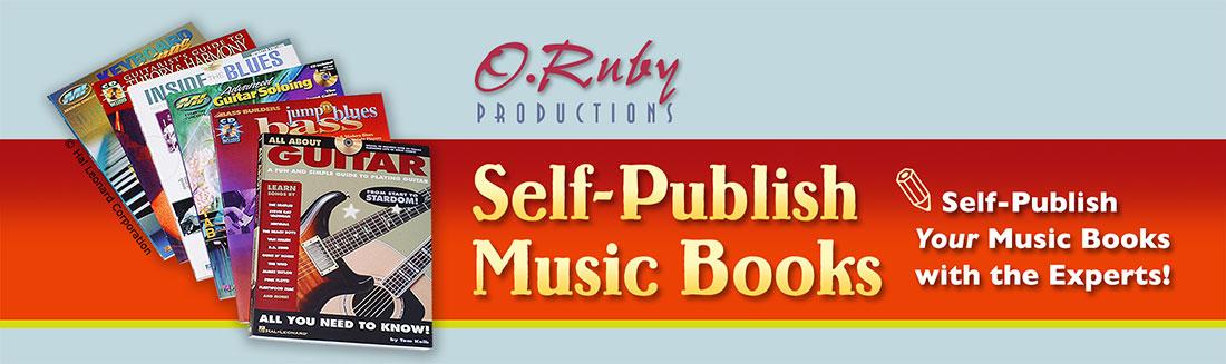 Self-publish Music Books Logo